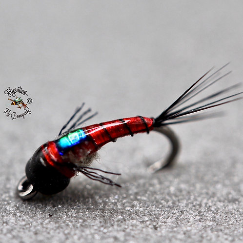 Dunnigan's Flashback Clear Water Emerger Red