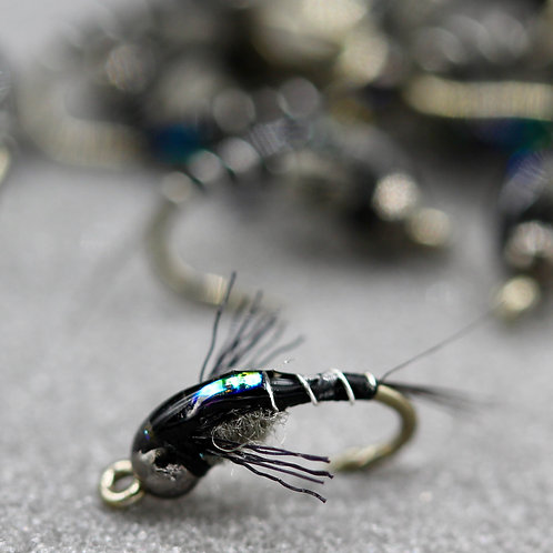 Dunnigan's Flashback Clear Water Emerger Black
