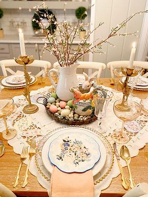 Easter Dinner Table