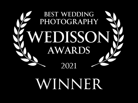 Global Wedisson Awards - two winning entires!