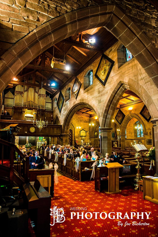 All Saint's Church Wedding Childwall Liverpool