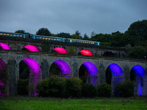3-Week Luminaire Spectacular for Pontcysyllte Aqueduct & Canal World Heritage Site!!