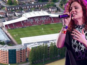 Jess Glynne to Play Wrexham's Racecourse Ground Next Summer!