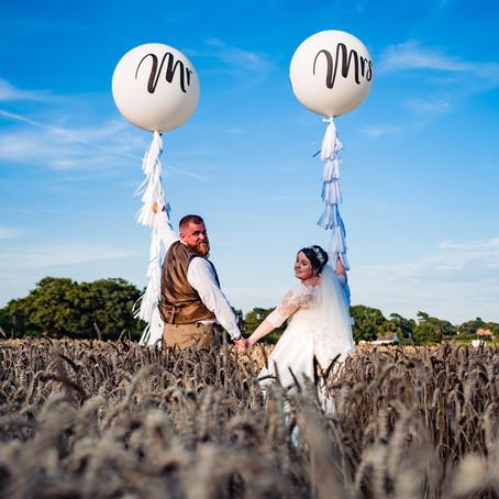 Jade & Stuart's Stock Farm Cheshire Wedding Story