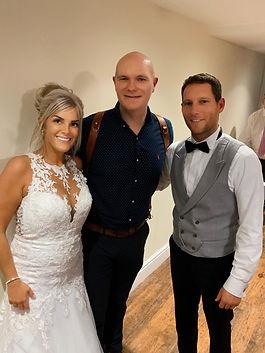 Joe Bickerton wedding couple