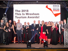 New figures show 4% annual growth as £123m per year is brought into the tourism economy in Wrexham C