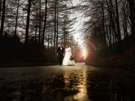 A Beautiful Winter Wedding in North Wales!