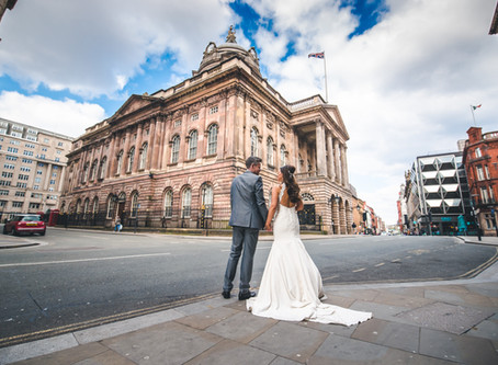 Natalie & Adam's Liverpool Town Hall & Corinthian Grand Wedding