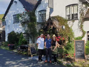 The West Arms Welcomes British Athlete, Alex Flynn to North Wales