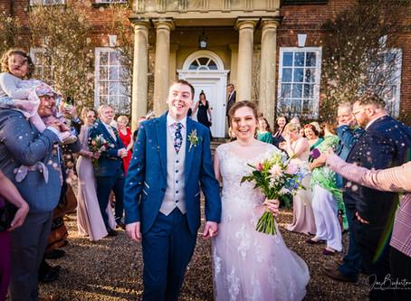 Sophie & Chris' Iscoyd Park Wedding - February 2020
