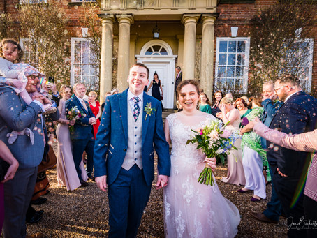 Sophie & Chris' Iscoyd Park Wedding - February 2020