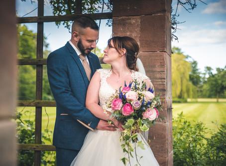 Clare & Sam's Inglewood Manor Cheshire Wedding Story