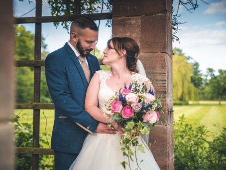 Clare & Sam's Inglewood Manor Cheshire Wedding Story
