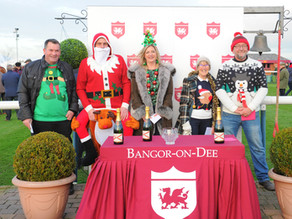 Bangor-on-Dee Racecourse to support Save the Children's Christmas Jumper Day at the Christmas Me