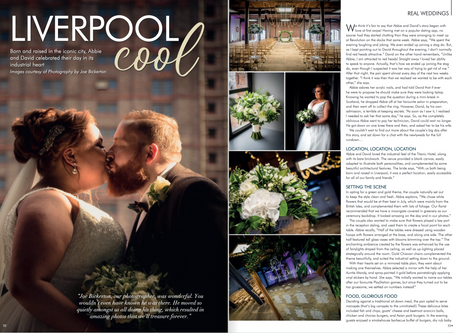 Titanic Liverpool Wedding - Magazine Feature!