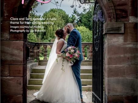 Clare & Sam's Inglewood Manor Wedding Featured in Print!