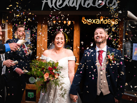 Jen & Iain's Intimate Chester Wedding - December 2020