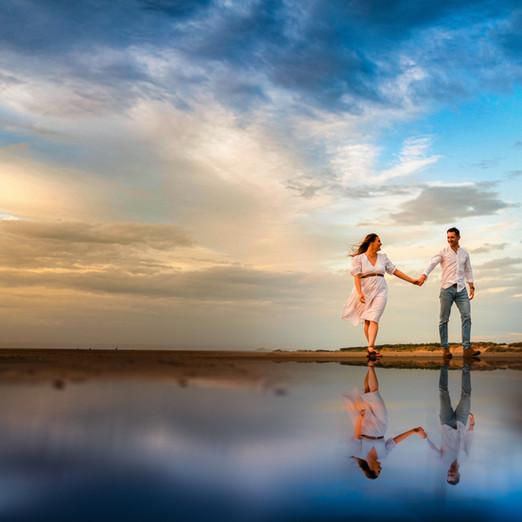 Formby Beach Wedding