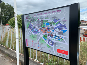 New Town Centre Maps Installed to Help Visitor Experience