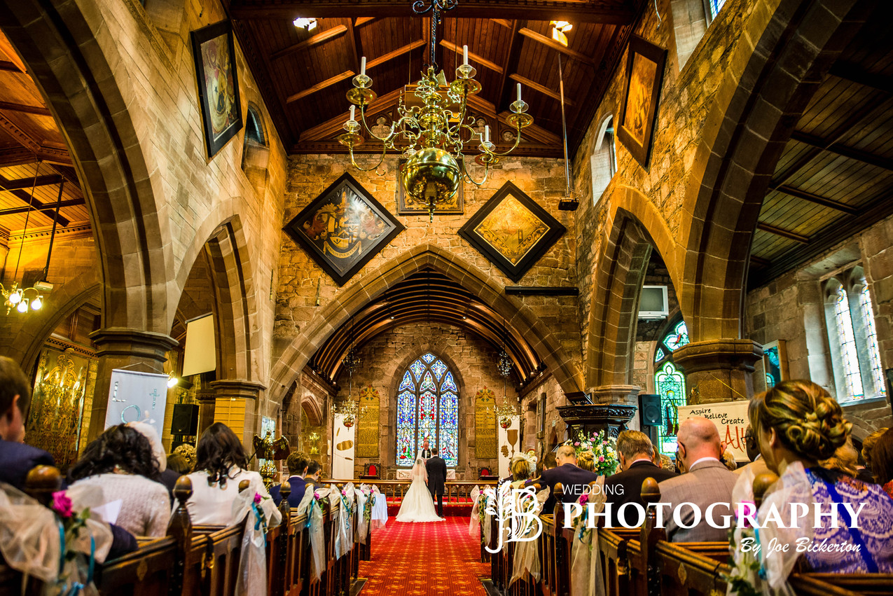 All Saint's Church Wedding Childwall