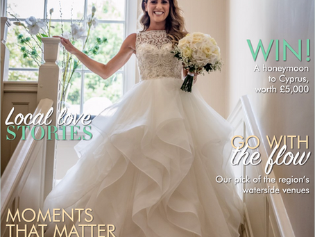 Front Cover - Your Cheshire & Merseyside Wedding Magazine