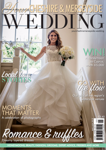 Your Cheshire Merseyside Wedding Magazine Cover May 2019