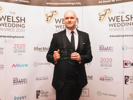 Winner of Best Photographer at the 2020 Welsh Wedding Awards!