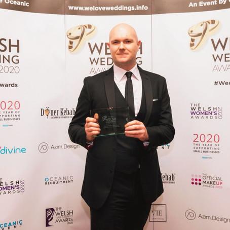 Winner of Best Photographer at the 2020 Welsh Wedding Awards!