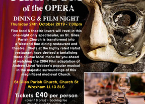 Two New Dining Events Largest Medieval Church in Wales!