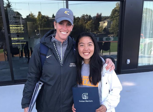 Christine Warren Commits to Corban University