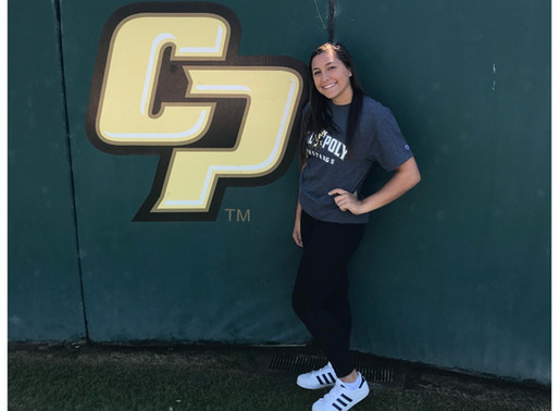 Julia Barnett Verbally Commits to CalPoly