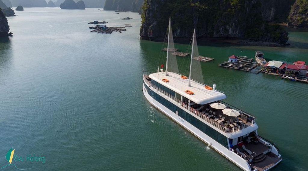 Halong Bay-Lan Ha 1 day with Jade Sails