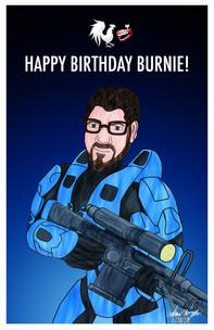 Burnie Burn's Birthday