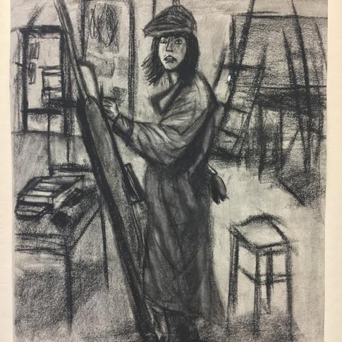 Adam Merrigan in Art Class