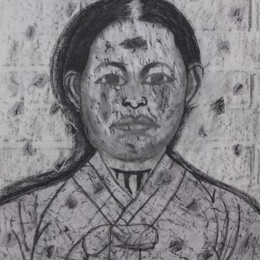 Ryu Gwan Su Collage/Frottage
