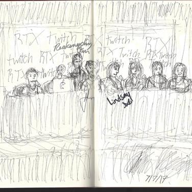 RTX2017 Sketch: RWBY Panel