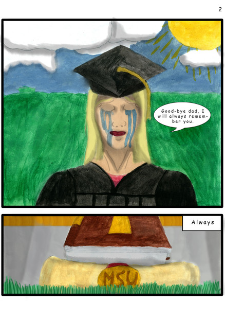 Graduation Without A Dad page 2