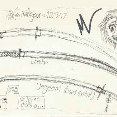 Inktober 6: Swords
