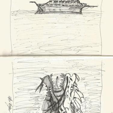 Inktober 4: Underwater