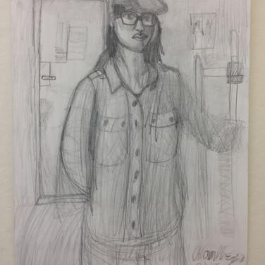 Adam Merrigan Self Portrait