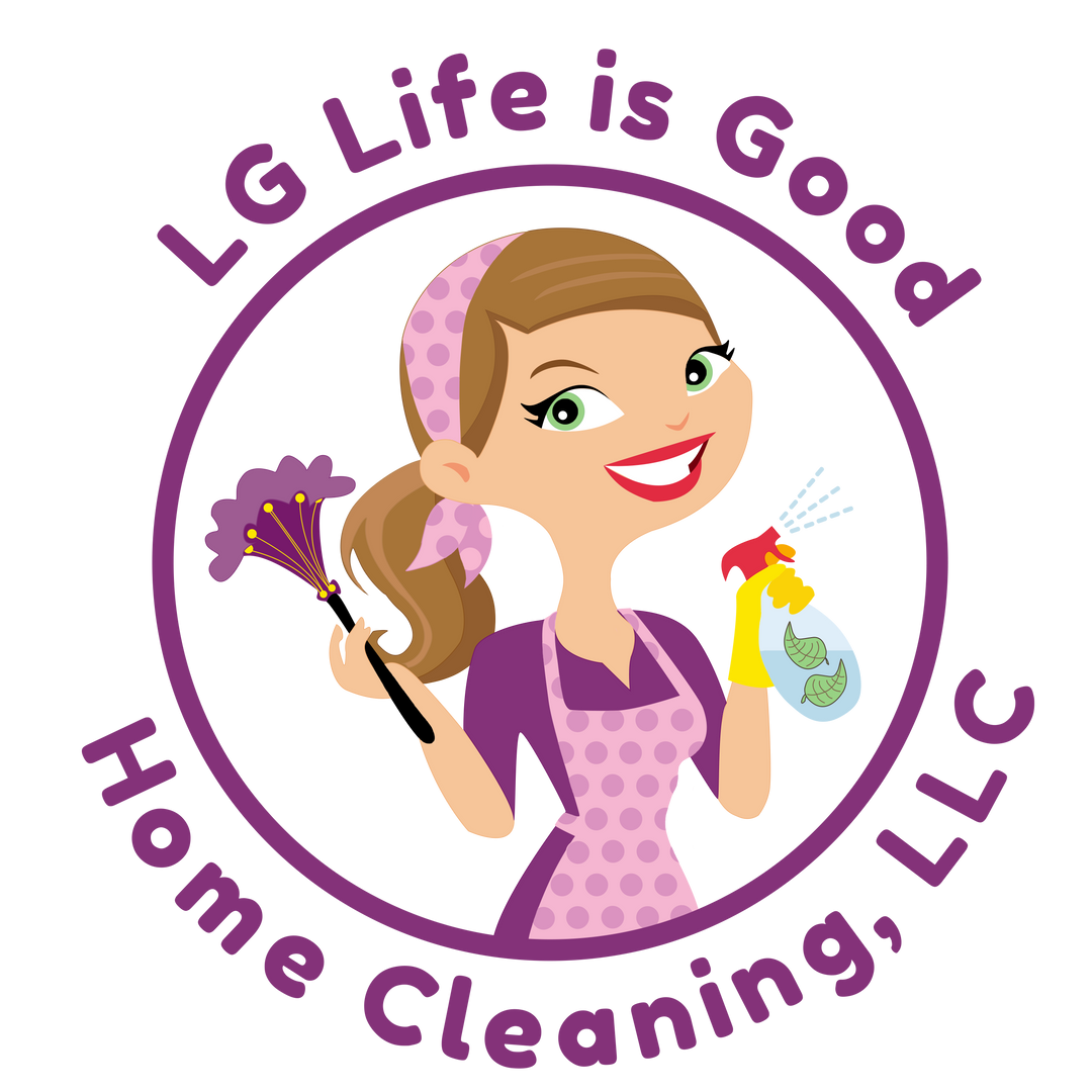 LG Life is Good Home Cleaning Logo