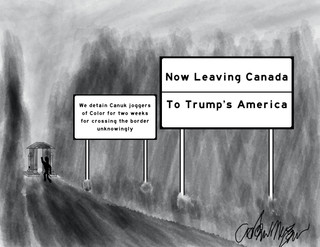 Now Leaving for Trump's America