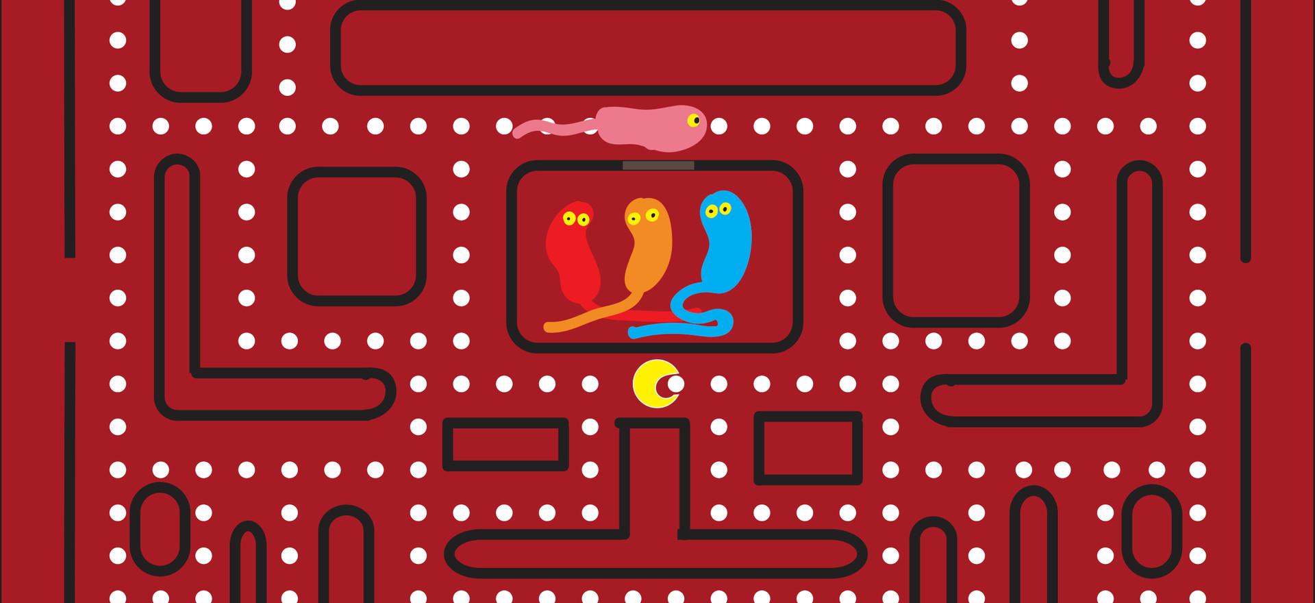 Pac-man Germ FIghter