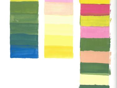 Color Progression Chart