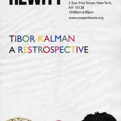 Tibor Kalman Poster