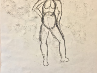 Observation Drawing of Model
