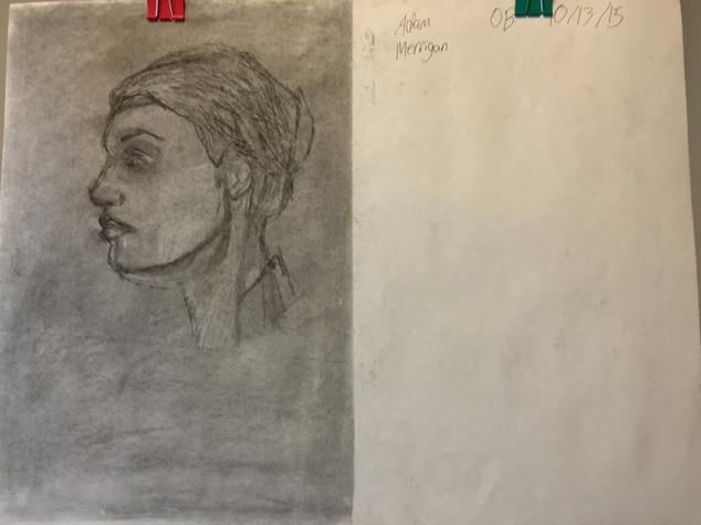 Ali Miller, Face Portrait