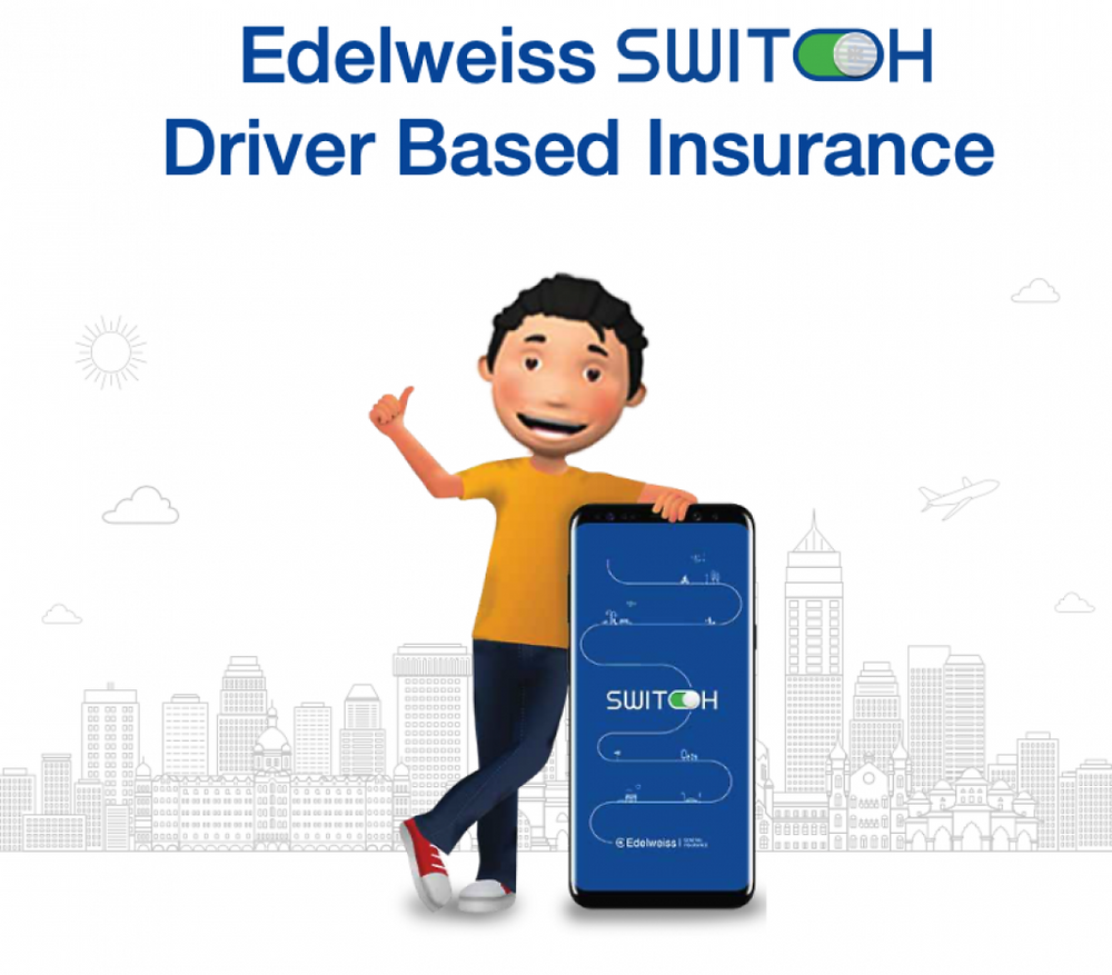 Edelweiss Switch - Usage Based Vehicle Insurance