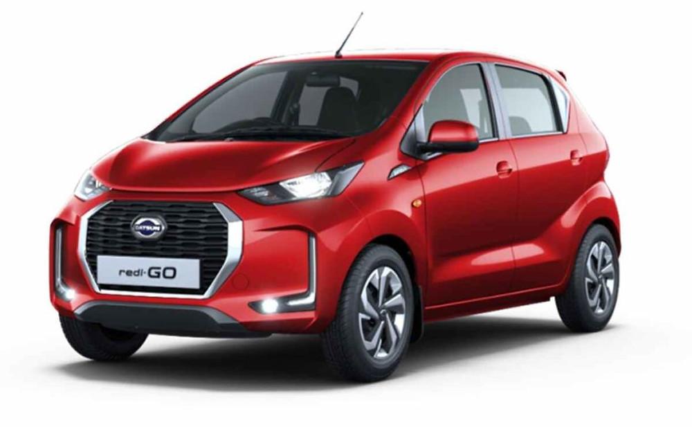 2020 Datsun Redi Go Facelift Official Front