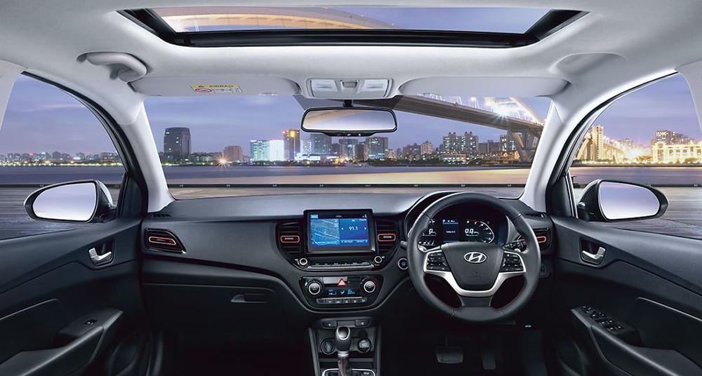 2020 Hyundai Verna Facelift Dashboard